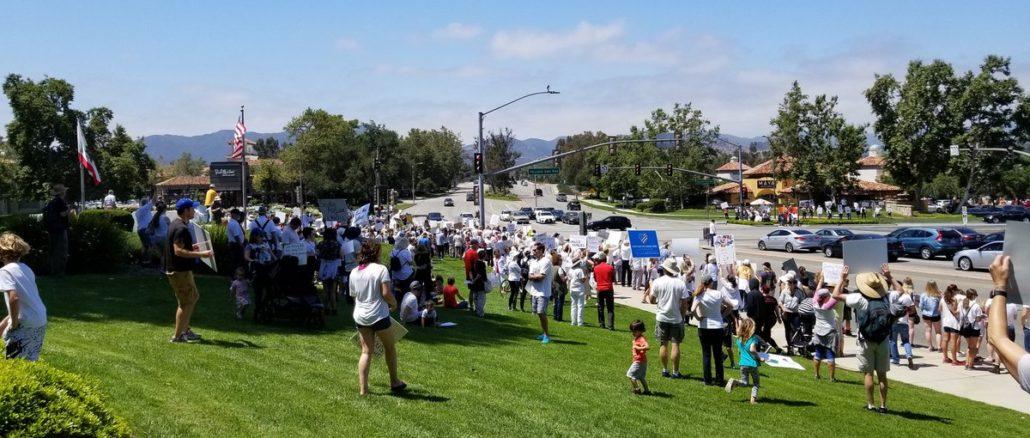Families Belongs Together Rally- Westlake