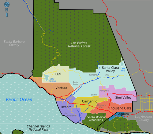 Ventura County Districts