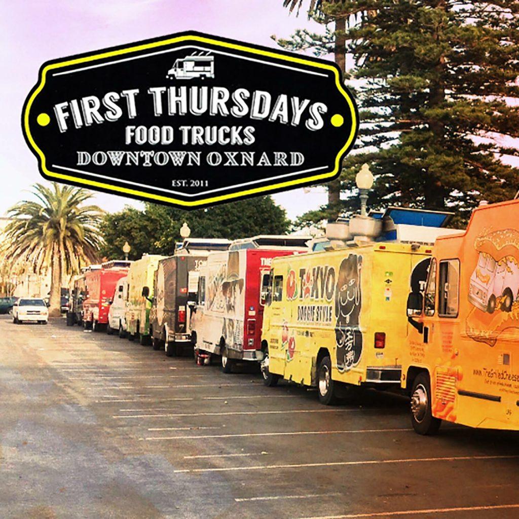 Oxnard Food Trucks #firstthursdays