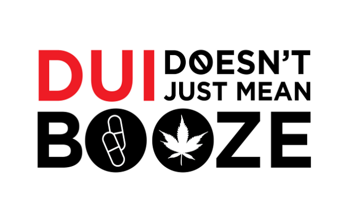 DUI Doesn't Just Mean Booze