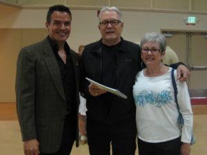 Antonio Sabato Jr, Larry Zini and Sharon Zini