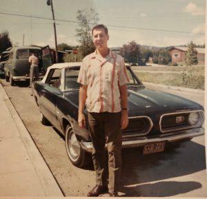 Koester Oregon Plymouth convertible
