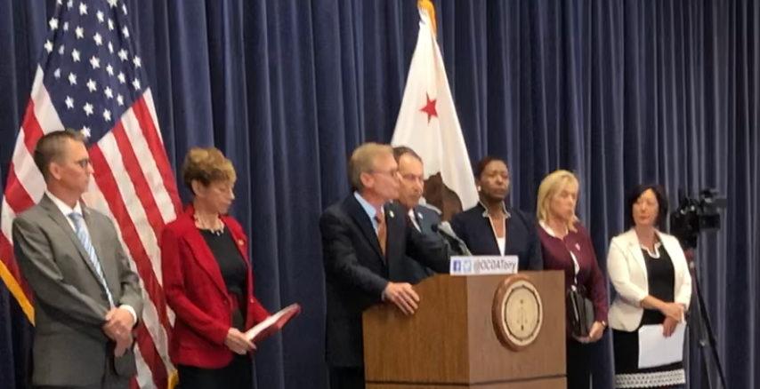 District Attorney Greg Totten, Diana Becton, Tim Ward, Anne Marie Schubert, Joyce E Dudley, Tony Rackaukus