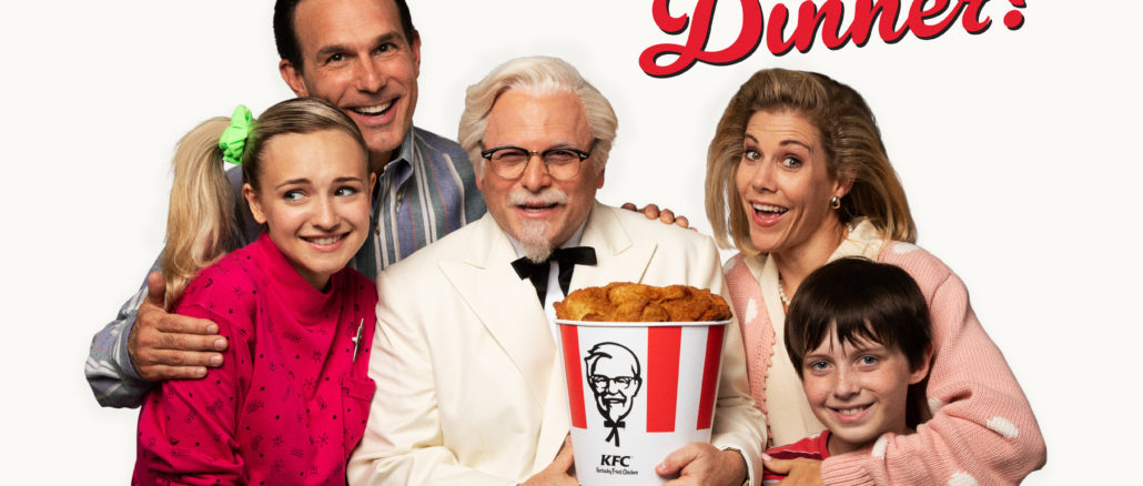 Jason Alexander KFC commercial Sanders