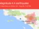 La Verne Earthquake 4.4 on August 28