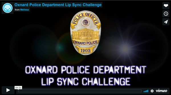 oxnard police department #lipsync