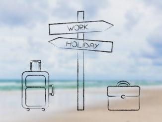 work holiday bleisure