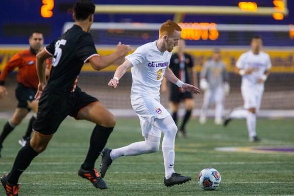CLU Mens Soccer Aaron Winsick No 9