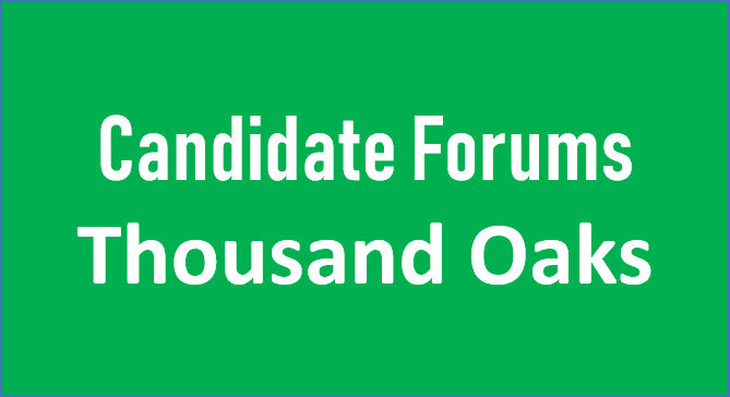 Thousand Oaks Candidate Forum