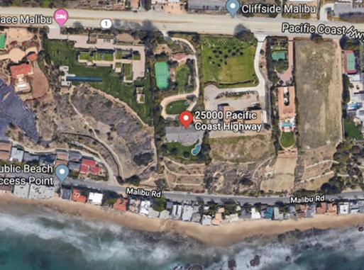 Cher's Home In Malibu