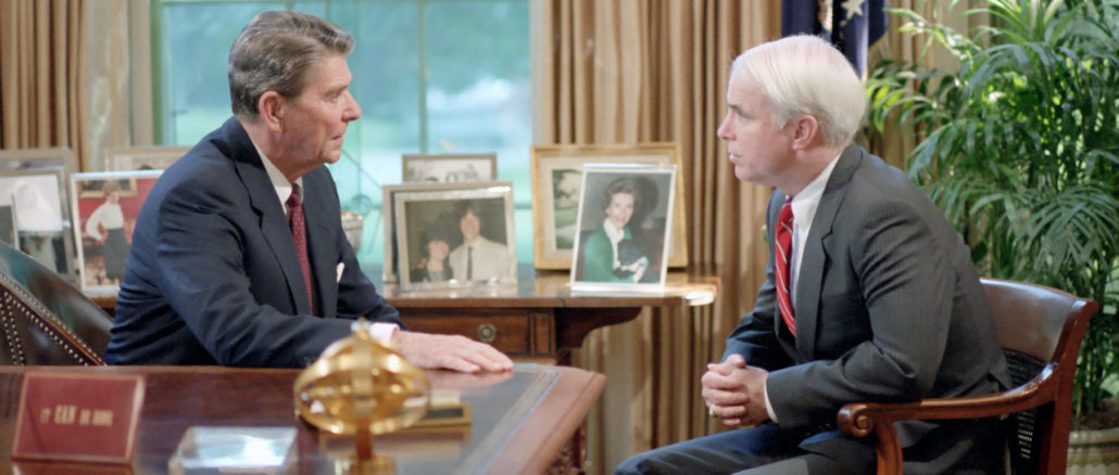 Ronald Reagan & John McCain