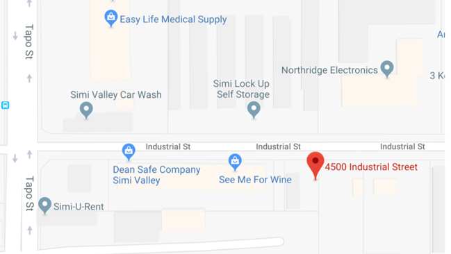 4500 Industrial Street Simi Valley