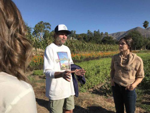 Farm Day Ventura County Farm Tour in Field