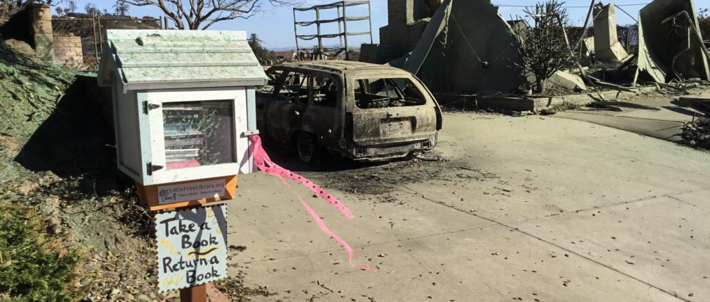 Thomas Fire Home Burnt Down