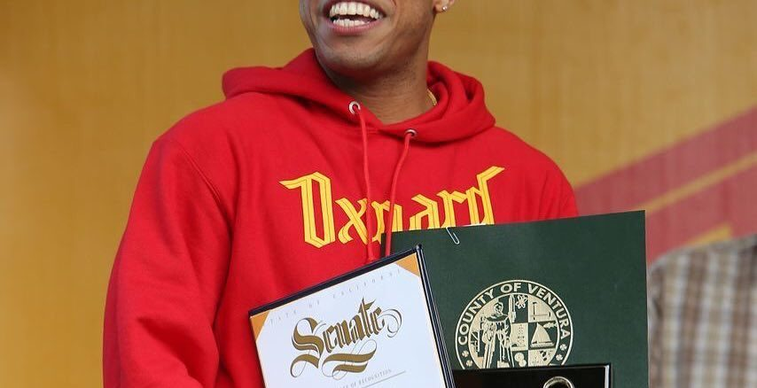 Anderson Paak receives key to the city of Oxnard