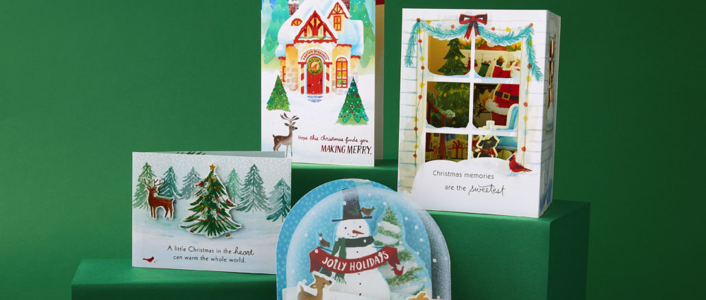 Hallmark Christmas Cards.Hallmark Introduces New Paper Wonder Greeting Cards For The